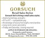 Retail Sales Stylist - Gorsuch