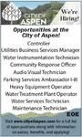 Government Job Opportunities - City of Aspen