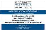 Multiple Positions - Marriott Streamside