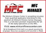 MFC Manager Minturn Fitness Center