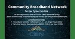 Broadband Systems Technician, Technical Service Representative - Community Broadband Network