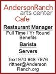 Restaurant Manager, Bartista, Servers
