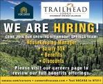 Housekeeping Manager VACASA Trailhead Lodge