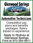 Automotive Technicians - Glenwood Springs Ford