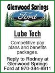 Lube Tech - Glenwood Springs Ford