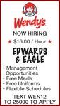 EDWARDS & EAGLE - Wendy's