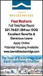 Fleet Mechanic - Town of Breckenridge Police Dept.