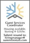 Guest Services Coordinator Summit Mountain Rentals