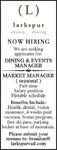Market Manager - Larkspur
