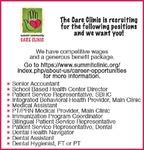 NOW HIRING - SUMMIT COMMUNITY CARE Clinic