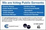 We are hiring Public Servants - Garfield County