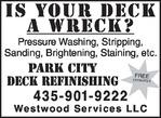 Service Directory | Decks