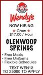 GLENWOOD SPRINGS - Wendy's
